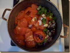 Tomatoes, onion, & garlic